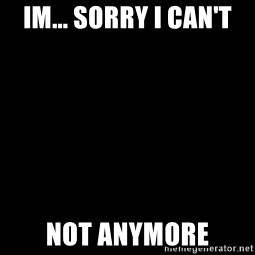 Blank Black - Im... Sorry i Can't Not Anymore