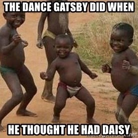 african children dancing - The Dance Gatsby did when he thought he had daisy