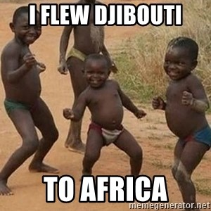 Dancing African Kid - I flew Djibouti To africa