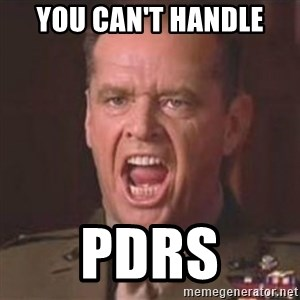 Jack Nicholson - You can't handle the truth! - You can't handle PDRS