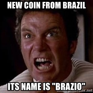 """Khan - NEW COIN from Brazil its name is """"BRAZIO"""""""