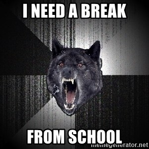 Insanity Wolf - i need a break from school