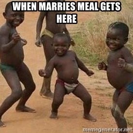 african children dancing - when marries meal gets here