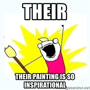 All the things - Their Their painting is so inspirational
