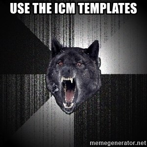 Insanity Wolf - USE THE ICM TEMPLATES