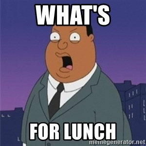 ollie williams - What's for lunch