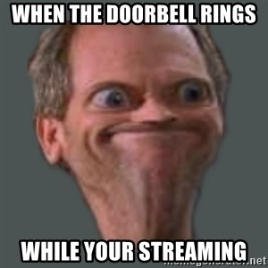 Housella ei suju - when the doorbell rings while your streaming