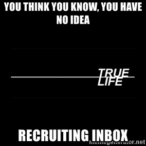 MTV True Life - You think you know, you have no idea recruiting inbox
