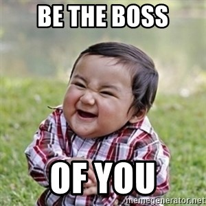 evil toddler kid2 - be the boss of you