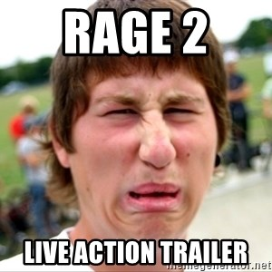 Disgusted Nigel - Rage 2  Live Action Trailer