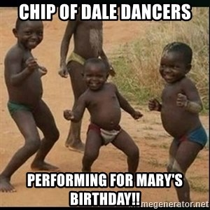 Dancing black kid - CHIP OF DALE DANCERS PERFORMING FOR MARY'S BIRTHDAY!!