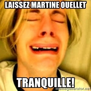 Leave Brittney Alone - Laissez Martine Ouellet Tranquille!