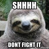 Sexual Sloth - Shhhh Dont fight it