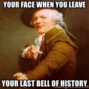 Joseph Ducreux - Your Face When You Leave Your Last Bell Of History