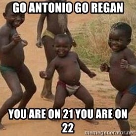 african children dancing - go antonio go regan you are on 21 you are on 22