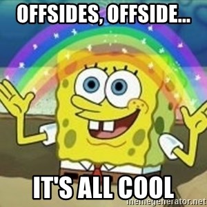 Spongebob - Offsides, offside... It's all cool
