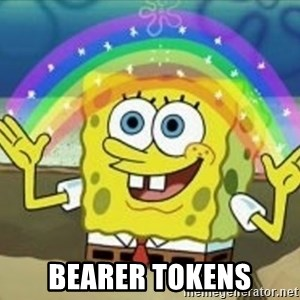 Spongebob - BEARER TOKENS