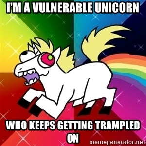 Lovely Derpy RP Unicorn - i'm a vulnerable unicorn who keeps getting trampled on