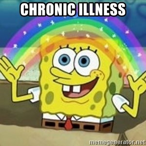 Spongebob - chronic illness