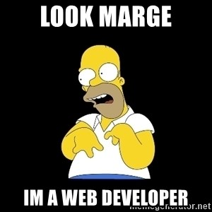 look-marge - look marge im a web developer