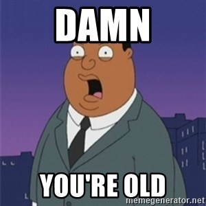 ollie williams - DAMN YOU'RE OLD
