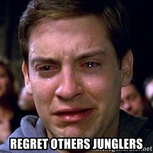 spiderman cry - Regret others junglers