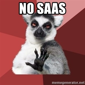 Chill Out Lemur - No SaaS