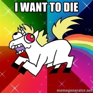 Lovely Derpy RP Unicorn - i want to die