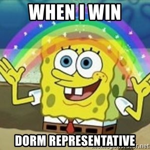 Bob esponja imaginacion - WHEN I WIN DORM REPRESENTATIVE