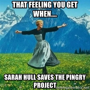 Look at All the Fucks I Give - That feeling you get when.... Sarah Hull saves the Pingry project