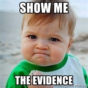 Victory Baby - Show me the evidence
