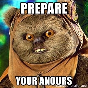 Rape Ewok - PREPARE YOUR ANOURS