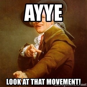 Joseph Ducreux - Ayye Look at that Movement!