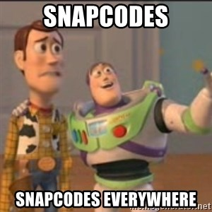 Buzz - Snapcodes Snapcodes everywhere