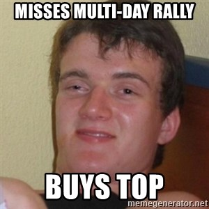Stoner Stanley - Misses multi-day rally Buys top