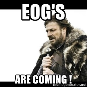 Winter is Coming - EOG's  Are Coming !