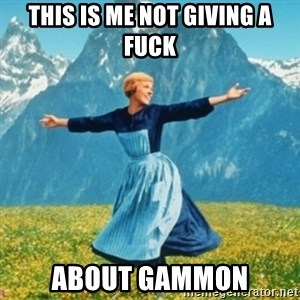 Sound Of Music Lady - this is me not giving a fuck about gammon