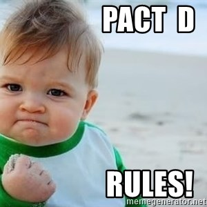 fist pump baby - Pact  D                 Rules!