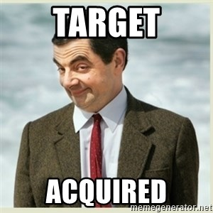 MR bean - Target Acquired
