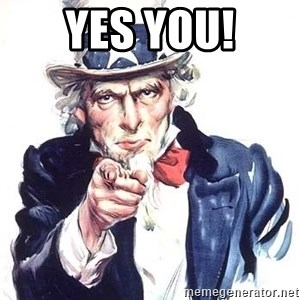 Uncle Sam - YES YOU!