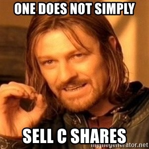 One Does Not Simply - One Does not simply Sell C shares