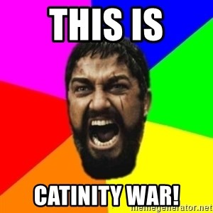 sparta - this is catinity war!