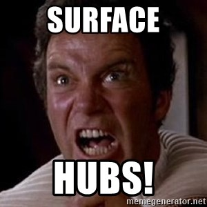 Khan - SURFACE HUBS!