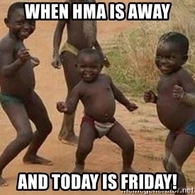 african children dancing - When HMA is away and today is Friday!