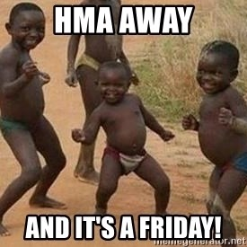 african children dancing - HMA away and it's a Friday!