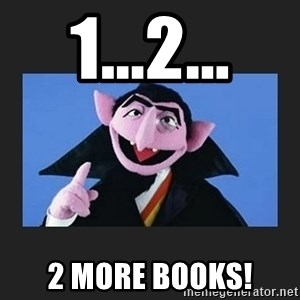 The Count from Sesame Street - 1...2... 2 more books!