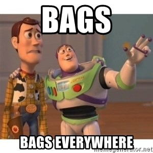 Toy story - Bags Bags everywhere