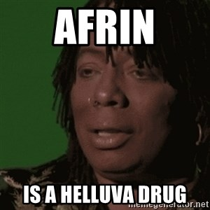 Rick James - AFrin Is a helluva drug