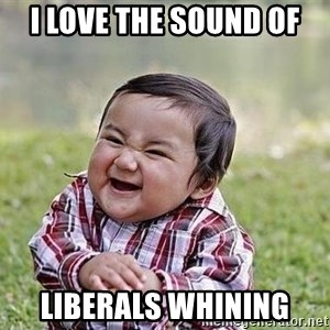 Evil Plan Baby - I love the sound of liberals whining