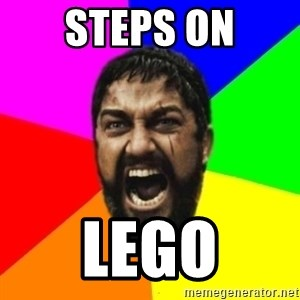 sparta - Steps on lego